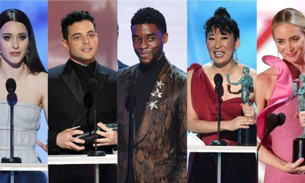 """SAG Awards 2019: Discursos emocionantes e prêmio histórico de """"Pantera Negra"""" marcam a noite; confira os vencedores!"""
