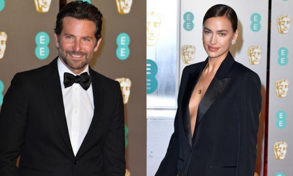 """Bradley Cooper faz rara menção à namorada Irina Shayk ao receber """"BAFTA"""" por """"Nasce Uma Estrela"""""""