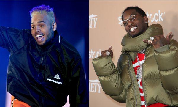 TRETA! Chris Brown e Offset trocam provocações e ameaças após piadas sobre prisão de 21 Savage; entenda o caso!