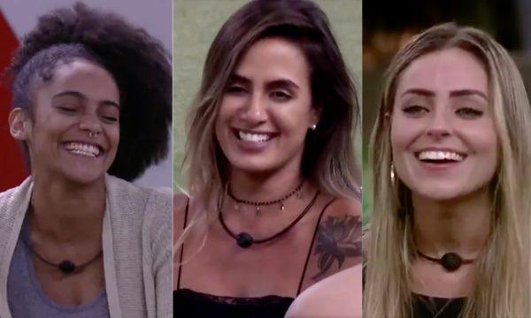 BBB 19: Após revelar 'crush', Gabriela ganha declaração linda de Carol e selinho de Paula: 'Um olhar que envolve'; assista