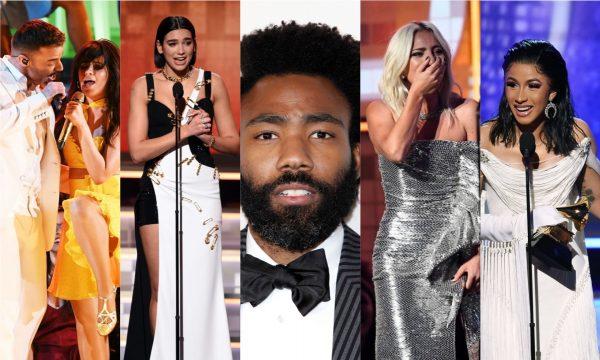 Grammy 2019: Childish Gambino domina; Lady Gaga, Dua Lipa e Cardi B também são premiadas! Veja resumo com performances e vencedores