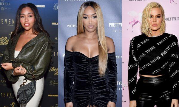 """Melhor amiga de Khloé Kardashian, Malika Haqq comenta escândalo de traição e chama Jordyn Woods de """"covarde"""""""