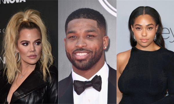 Khloé Kardashian é vista sorridente após escândalo de traição e curte mensagem detonando Tristan Thompson e Jordyn Woods