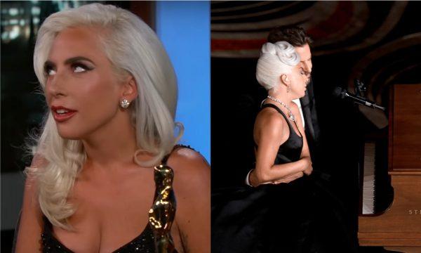 Lady Gaga fala pela primeira vez sobre comentários de romance com Bradley Cooper após performance no Oscar: 'É uma canção de amor'