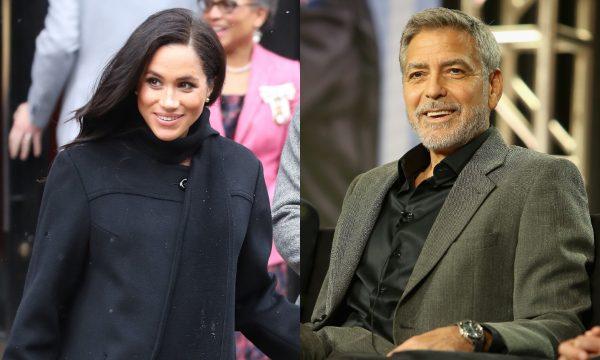 """George Clooney critica perseguição a Meghan Markle e compara com história da princesa Diana: """"Vimos como isso termina"""""""