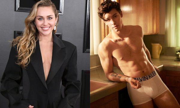 OMG! Miley Cyrus faz brincadeira hilária com foto de Shawn Mendes só de cueca; vem ver!