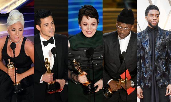 """Oscar 2019: """"Green Book"""", """"Bohemian Rhapsody"""", """"Pantera Negra"""" e Lady Gaga se destacam na maior noite do cinema; confira resumão com vencedores!"""