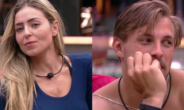 """BBB 19: Paula sugere mudança de visual para Diego e brinca: """"Mais gato que o Brad Pitt"""""""
