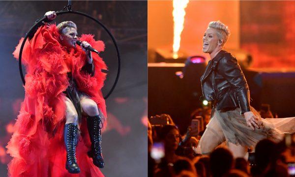 BRIT Awards 2019: Homenageada, Pink incendeia plateia em performance poderosíssima de seus grandes sucessos; vem ver!