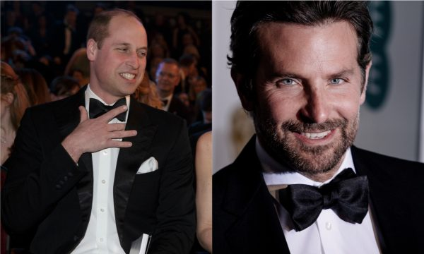 Príncipe William elogia Bradley Cooper e Lady Gaga, e cai na risada com resposta do astro