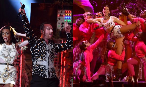 BRIT Awards 2019: Dua Lipa e Sam Smith arrasam em performance de HINOS com Calvin Harris e Rag'n'Bone Man; vem ver!