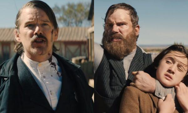 Chris Pratt e Ethan Hawke se enfrentam em trailer cheio de ação de lenda do Velho Oeste; vem assistir a 'The Kid'
