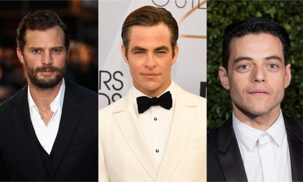 """Jamie Dornan é premiado por bumbum no """"Oscar da Nudez""""; Chris Pine e Rami Malek também se destacam"""