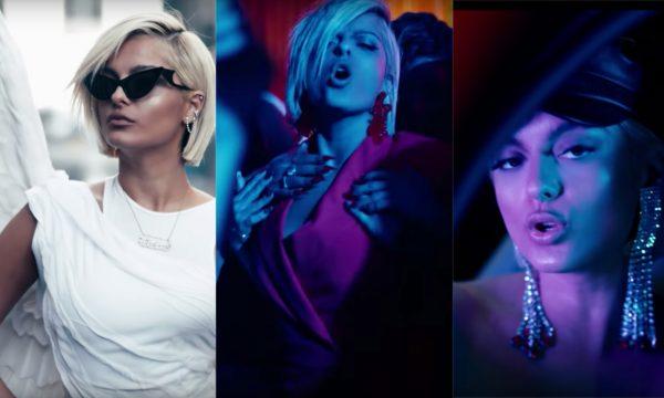 """Bebe Rexha tá diabólica e angelical no clipe mais ousado e sexy da carreira; vem ver o BAPHO """"Last Hurrah"""""""