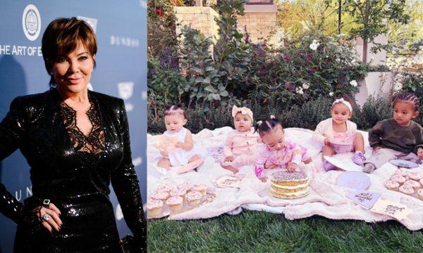 Kris Jenner fala sobre chegada de mais um neto, e revela festas semanais organizadas por Khloé para as crianças