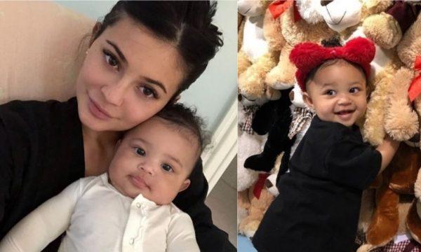 """Kylie Jenner comemora aniversário de 1 ano de Stormi com mensagem LINDA para a filha: """"Meu anjo na Terra"""""""