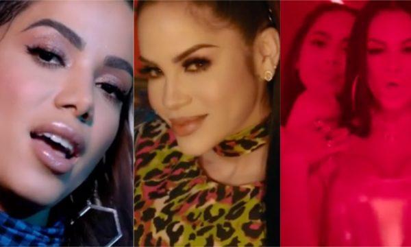 """Baladinha gostosa! Anitta e Natti Natasha dançam juntas em prévia do clipe de """"Te Lo Dije""""; confira!"""