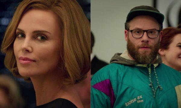 """Hilário! Charlize Theron e Seth Rogen formam casal inusitado no trailer da comédia romântica """"Long Shot""""; assista ao vídeo!"""