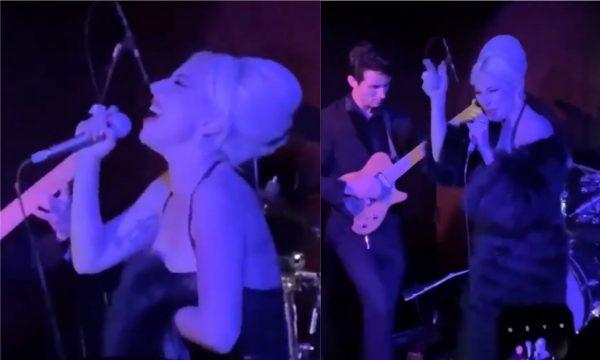 De improviso: Lady Gaga faz apresentação surpresa (MARAVILHOSA!) em bar de Los Angeles; vem assistir e se apaixonar!