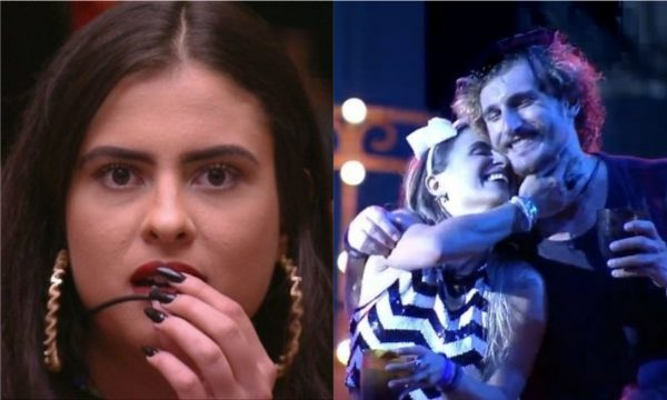 BBB 19: Hana lamenta comportamento de Alan com Carolina e detona declaração do brother: 'Nojo'