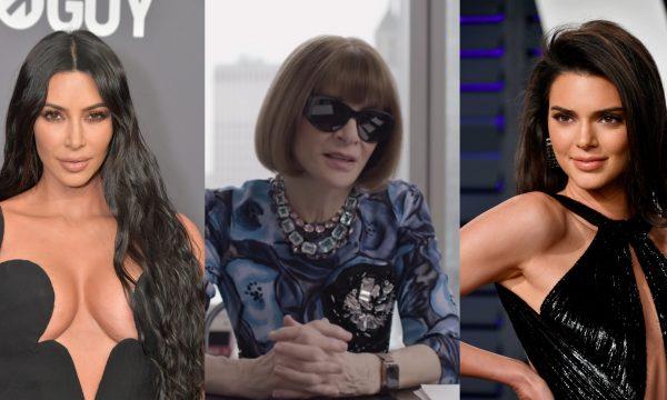 """Em vídeo, Anna Wintour revela opinião sobre estilos de Kim Kardashian e Kendall Jenner: """"Achavam que ela não ia durar"""""""