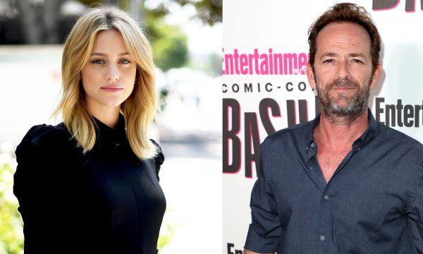 """Lili Reinhart reage à morte de Luke Perry, colega de """"Riverdale"""": """"Simplesmente não consigo acreditar"""""""