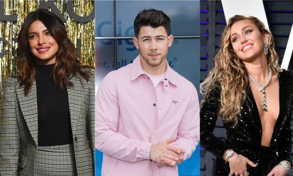 Priyanka Chopra reage da melhor forma à conversa de Nick Jonas com a ex, Miley Cyrus; confira