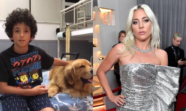 """Filho de Marcos Mion, Stefano arrasa em cover de """"Shallow"""" de Lady Gaga e ganha elogios de famosos; vem ver!"""