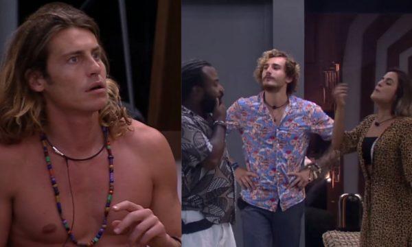 BBB 19: Brothers simulam briga sobre imunidade e deixam Tarzan italiano assustado; veja vídeos