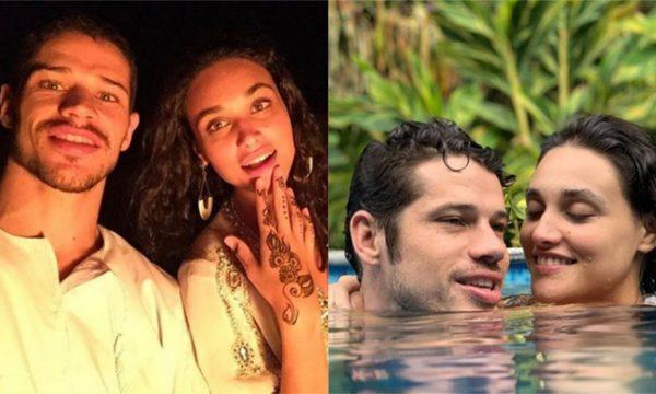 Após foto junto a Débora Nascimento em pousada, José Loreto aparece com aliança em vídeo