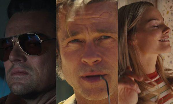 SAIU! Leonardo DiCaprio, Brad Pitt e Margot Robbie estrelam o primeiro teaser trailer de 'Era Uma Vez Em Hollywood', nono filme de Quentin Tarantino; assista!