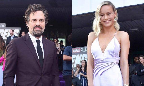 """Mark Ruffalo fica chocado ao descobrir que Brie Larson foi sua colega de elenco em """"De repente 30""""; assista"""