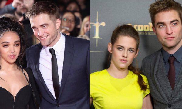 """Robert Pattinson fala sobre relação com as ex-namoradas, Kristen Stewart e FKA Twigs: """"Não eram relacionamentos de três meses"""""""