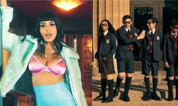 """Netflix faz brincadeira com novo clipe de Anitta em referência hilária a """"The Umbrella Academy""""; confira!"""