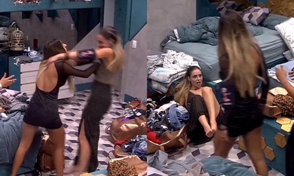 BBB 19: Hariany e Paula brigam, e goiana dá empurrão na loira; Internautas discutem expulsão! Veja vídeos