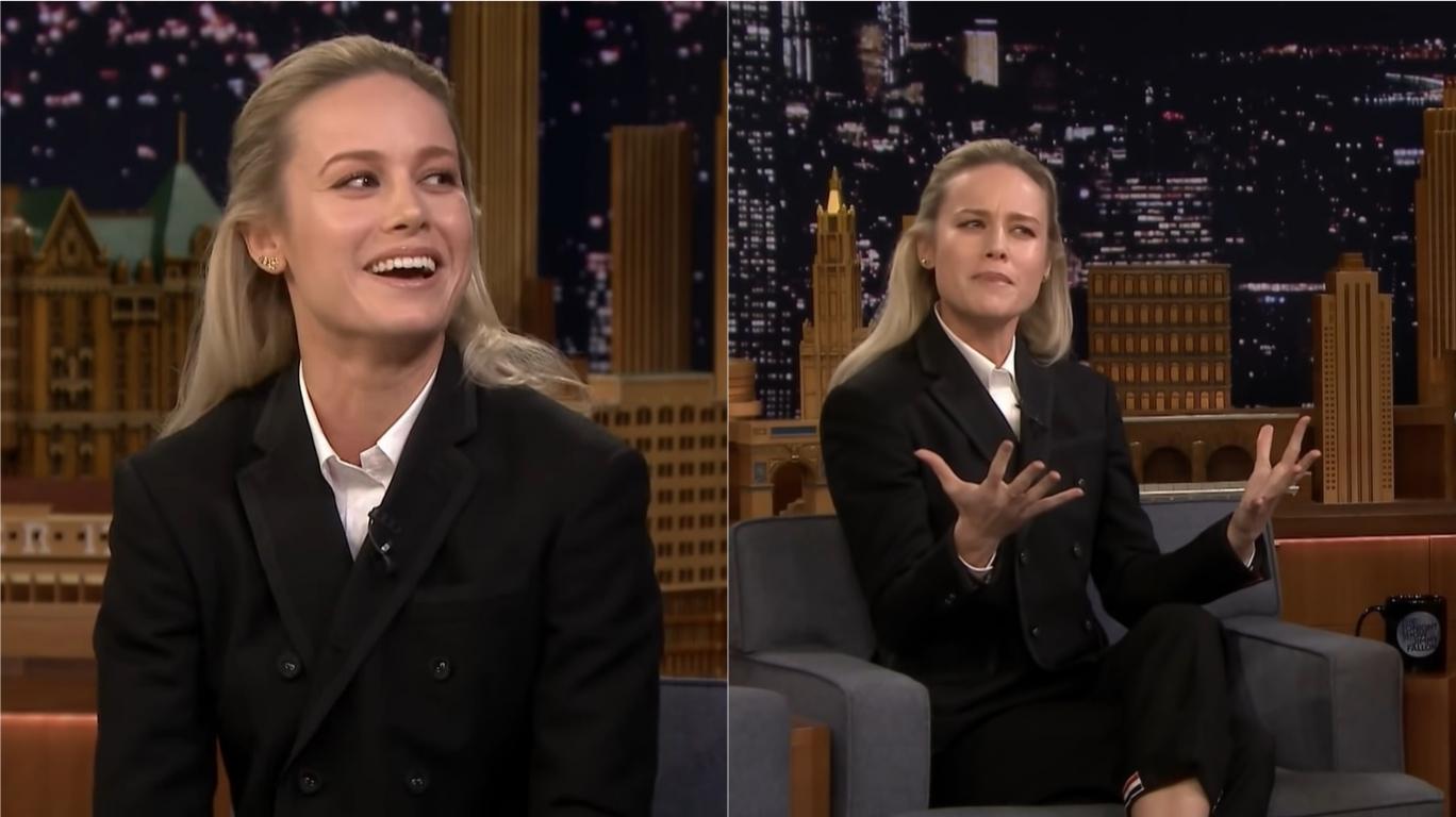 """Brie Larson revela ter gravado """"Vingadores: Ultimato"""" antes de """"Capitã Marvel"""", sem saber nada sobre o filme e a personagem; assista>"""