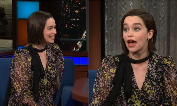 """Emilia Clarke revela ter feito """"algo que não deveria"""" sobre o final de """"Game of Thrones"""""""