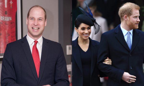 Vídeo: Príncipe William é questionado por fã sobre nascimento do bebê de Harry e Meghan, e dá resposta bem-humorada!