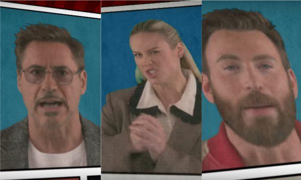 Emocionante! Elenco de 'Vingadores: Ultimato' canta resumo da saga e homenageia Stan Lee! Assista