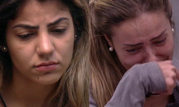 """BBB 19: Perfis oficiais de Hariany e Paula se manifestam sobre expulsão da goiana: """"Regras são feitas para serem cumpridas"""""""