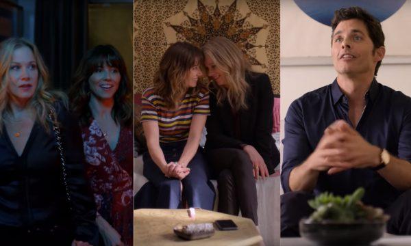 'Disque Amiga Para Matar': Em trailer da nova série da Netflix, Christina Applegate vira grande amiga da também viúva Linda Cardellini, sem desconfiar de segredo chocante! Vem assistir