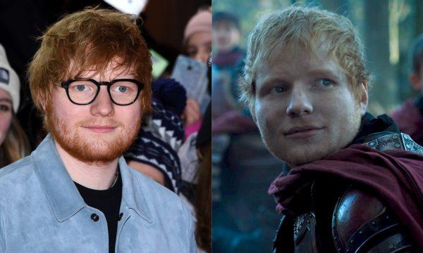 Ed Sheeran descobre o destino de seu personagem em 'Game of Thrones' e reage: 'Obrigado!'