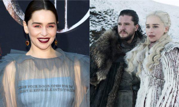 'Game of Thrones': Emilia Clarke dá detalhes do encontro de Daenerys com as irmãs Stark e compara última temporada da série a 'Entrando Numa Fria'