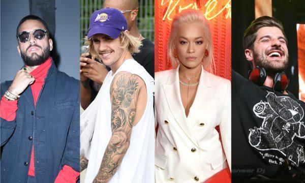 """Parceria de Lil Dicky com Justin Bieber e vários artistas; novo single de Alok com Steve Aoki; feat dançante de Becky G e Maluma e muito mais nos """"Lançamentos de Sexta"""""""