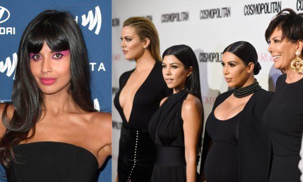 Kardashians se posicionam e Jameela Jamil critica o clã de volta por promover produtos de emagrecimento: 'Bolsos cheios de sangue!'