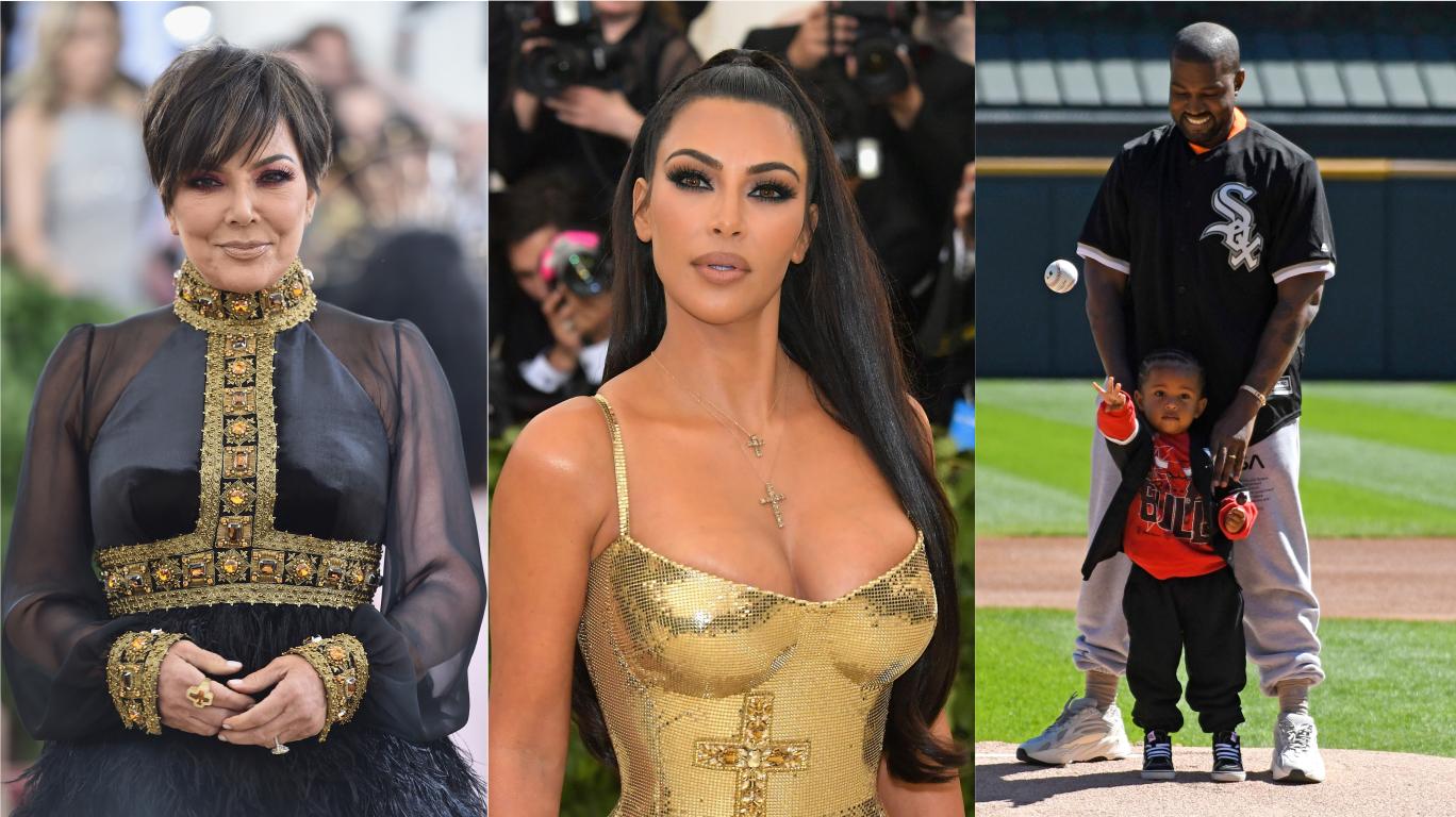 Kris Jenner revela que Saint, filho de Kim Kardashian e Kanye West, foi parar em emergência médica; confira!>