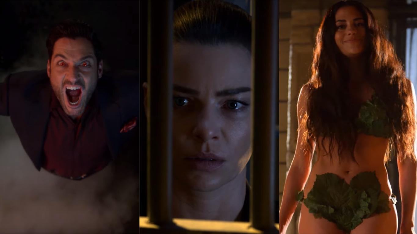 'Lucifer': Chloe não consegue aceitar a verdadeira identidade de Lúcifer, e Eva causa muito no trailer da quarta temporada; assista ao vídeo!