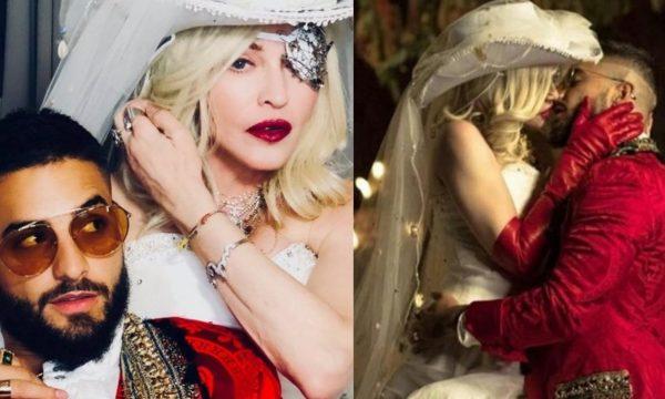 """RAINHA! Madonna arrasa na superprodução e lança clipe grandioso de """"Medellín"""", parceria com Maluma; assista!"""