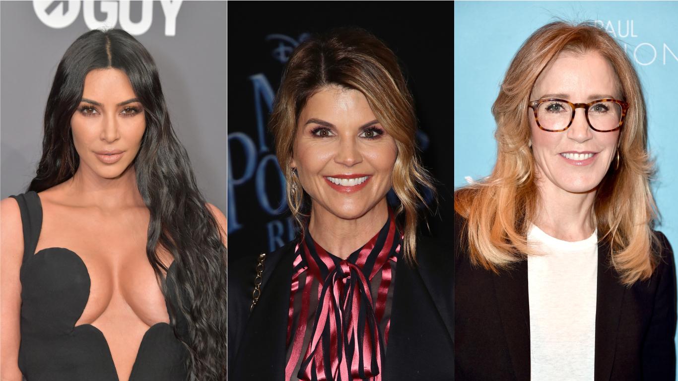 Kim Kardashian opina sobre escândalo de fraudes em universidades envolvendo Lori Loughlin e Felicity Huffman: 'Jamais abusaria do meu privilégio'>