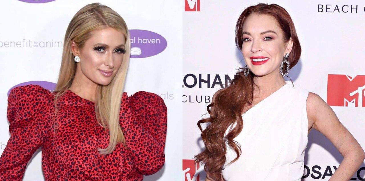 """Lindsay Lohan escreve mensagem para Paris Hilton após ser chamada de """"patética e constrangedora"""">"""